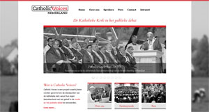 Website Catholic Voices Nederland