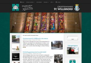 Website Grootseminarie St. Willibrord